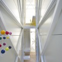 Inside The Keret House - the World&#039;s Skinniest House - by Jakub Szczesny (7)  Polish Modern Art Foundation / Bartek Warzecha
