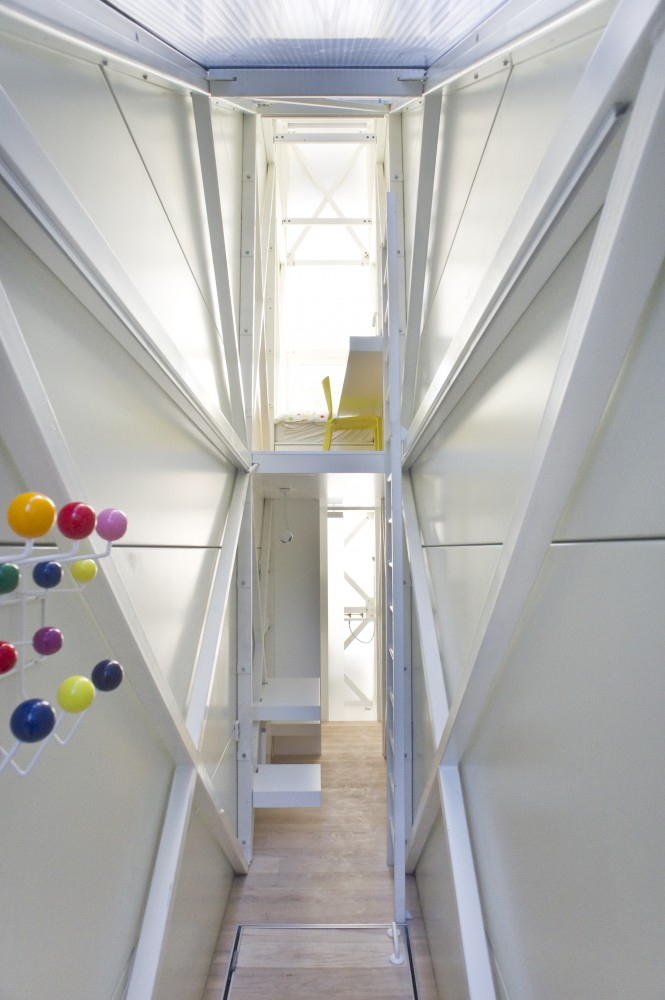 Inside The Keret House &#8211; the World&#8217;s Skinniest House &#8211; by Jakub Szczesny
