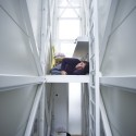 Inside The Keret House - the World&#039;s Skinniest House - by Jakub Szczesny (6)  Polish Modern Art Foundation / Bartek Warzecha