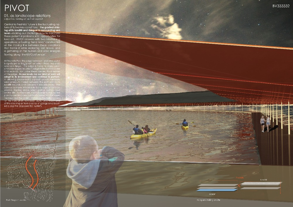 Winners announced of the 2012 Land Art Generator Initiative Competition for Freshkills Park