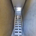 Inside The Keret House - the World&#039;s Skinniest House - by Jakub Szczesny (3)  Polish Modern Art Foundation / Bartek Warzecha