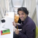 Inside The Keret House - the World&#039;s Skinniest House - by Jakub Szczesny (10)  Polish Modern Art Foundation / Bartek Warzecha