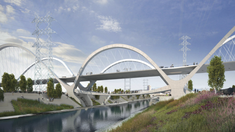 HNTB's winning concept for LA's 6th Street Viaduct Replacement Project