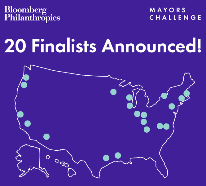 Mayors Challenge Finalists Announced
