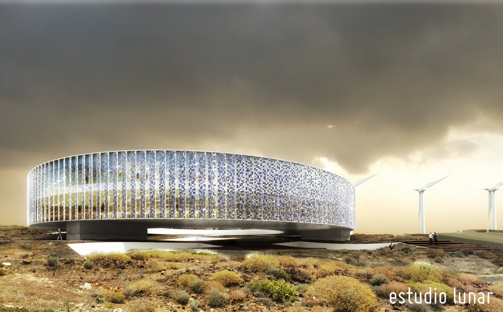 ITER Building Technology Park 2nd Prize Proposal / Estudio Lunar