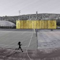 Vasas Sports Hall Facade Competition Entry (4)  Tams Bujnovszky