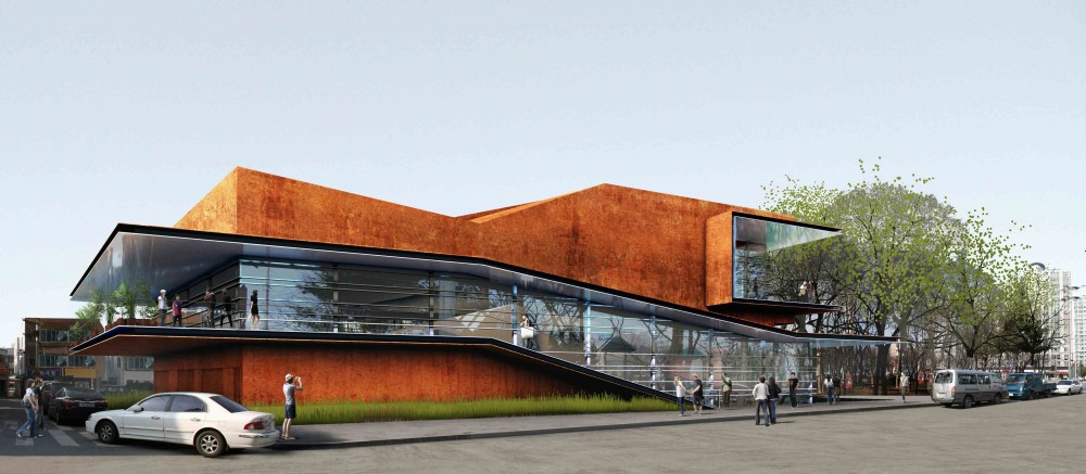Daegu Gosan Public Library Competition Entry / Martin Fenlon Architecture