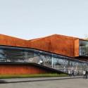Daegu Gosan Public Library Competition Entry (1) Courtesy of Martin Fenlon Architecture