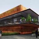 Daegu Gosan Public Library Competition Entry (2) Courtesy of Martin Fenlon Architecture