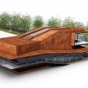 Daegu Gosan Public Library Competition Entry (4) Courtesy of Martin Fenlon Architecture
