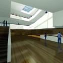 Daegu Gosan Public Library Competition Entry (5) Courtesy of Martin Fenlon Architecture