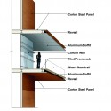 Daegu Gosan Public Library Competition Entry (14) wall section