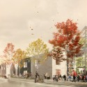 Prinsessegade Kindergarten and Youth Club Winning Proposal  (2) Courtesy of COBE, NORD Architects, PK3 and Grontmij