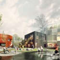 Prinsessegade Kindergarten and Youth Club Winning Proposal  (3) Courtesy of COBE, NORD Architects, PK3 and Grontmij