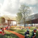 Prinsessegade Kindergarten and Youth Club Winning Proposal  (1) Courtesy of COBE, NORD Architects, PK3 and Grontmij