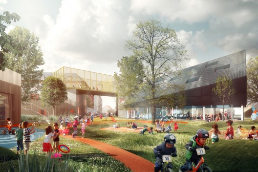 Prinsessegade Kindergarten and Youth Club Winning Proposal / COBE ...
