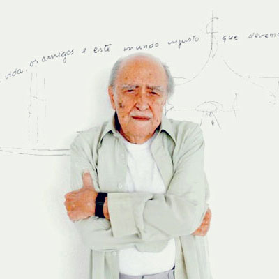 Oscar Niemeyer Hospitalized Again