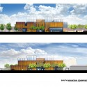 South Mountain Community Library / Richärd+Bauer (12) Elevations - Courtesy of Richärd+Bauer