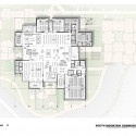 South Mountain Community Library / Richärd+Bauer (10) First Floor Plan - Courtesy of Richärd+Bauer