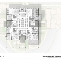 South Mountain Community Library / Richärd+Bauer (11) Second Floor Plan - Courtesy of Richärd+Bauer