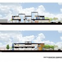 South Mountain Community Library / Richärd+Bauer (15) Sections - Courtesy of Richärd+Bauer