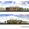 South Mountain Community Library / Richärd+Bauer (13) Elevations - Courtesy of Richärd+Bauer