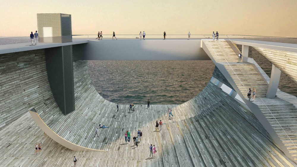 Faliro Pier Competition Entry / Ksestudio