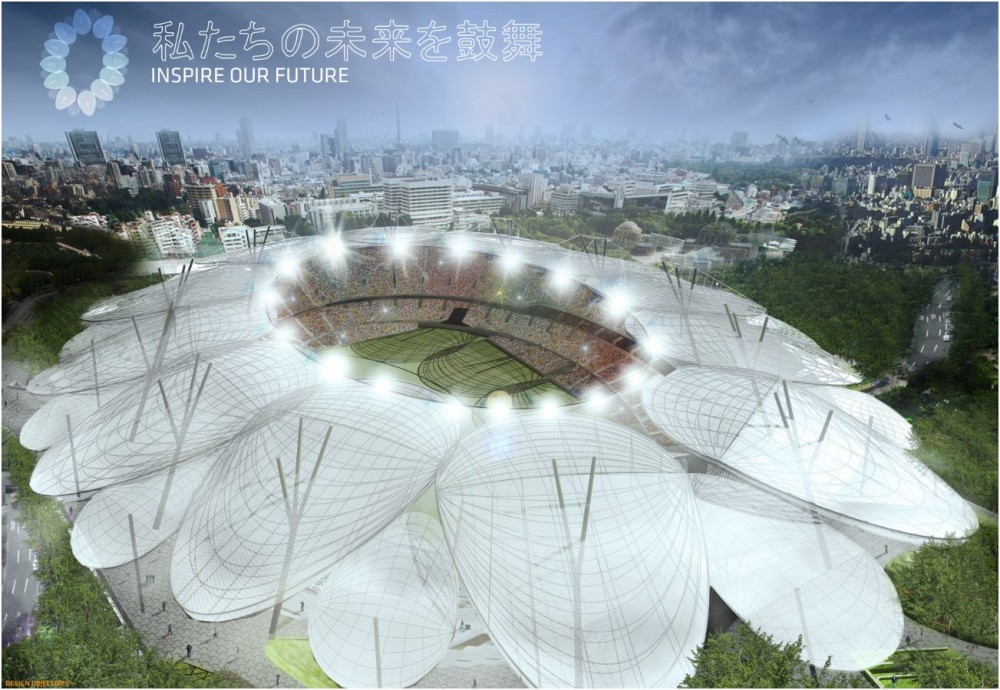 Japan National Stadium Competition Entry / Jackson Architecture