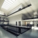 Building O - University of Antwerp Auditorium and Research Building Winning Proposal (4) © WAX architectural visualizations