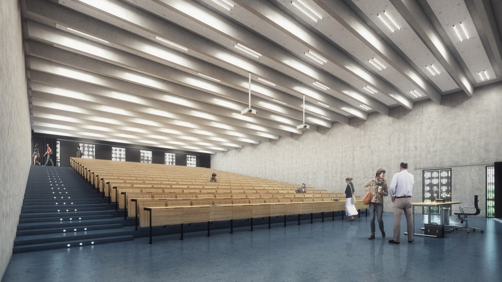 Building O – University of Antwerp Auditorium and Research Building Winning Proposal / META architectuurbureau
