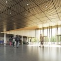 Building O - University of Antwerp Auditorium and Research Building Winning Proposal (3) © WAX architectural visualizations