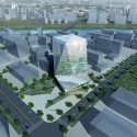 Zhengdong New District Office Building Proposal (1) Courtesy of AUA