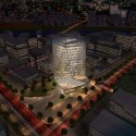 Zhengdong New District Office Building Proposal (3) Courtesy of AUA