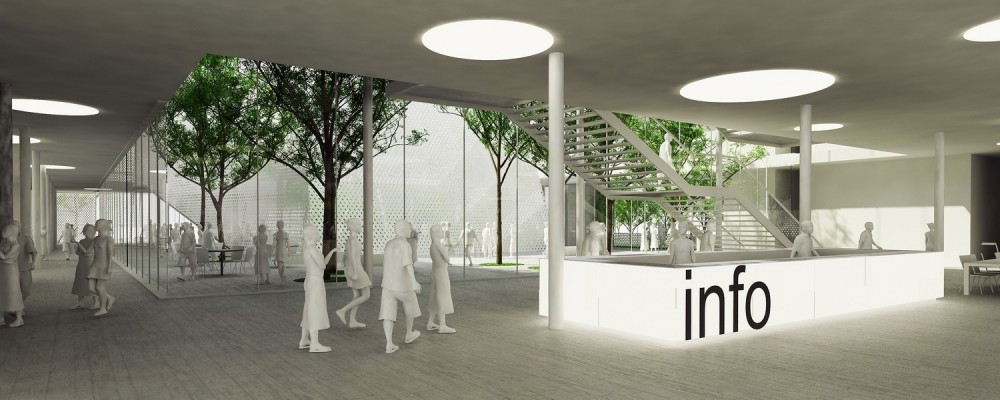 Osijek University Library Winning Proposal / SANGRAD Architects + AVP Arhitekti