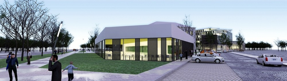 Varaždin University Student's Restaurant and Home Winning Proposal / SANGRAD Architects + AVP Arhitekti