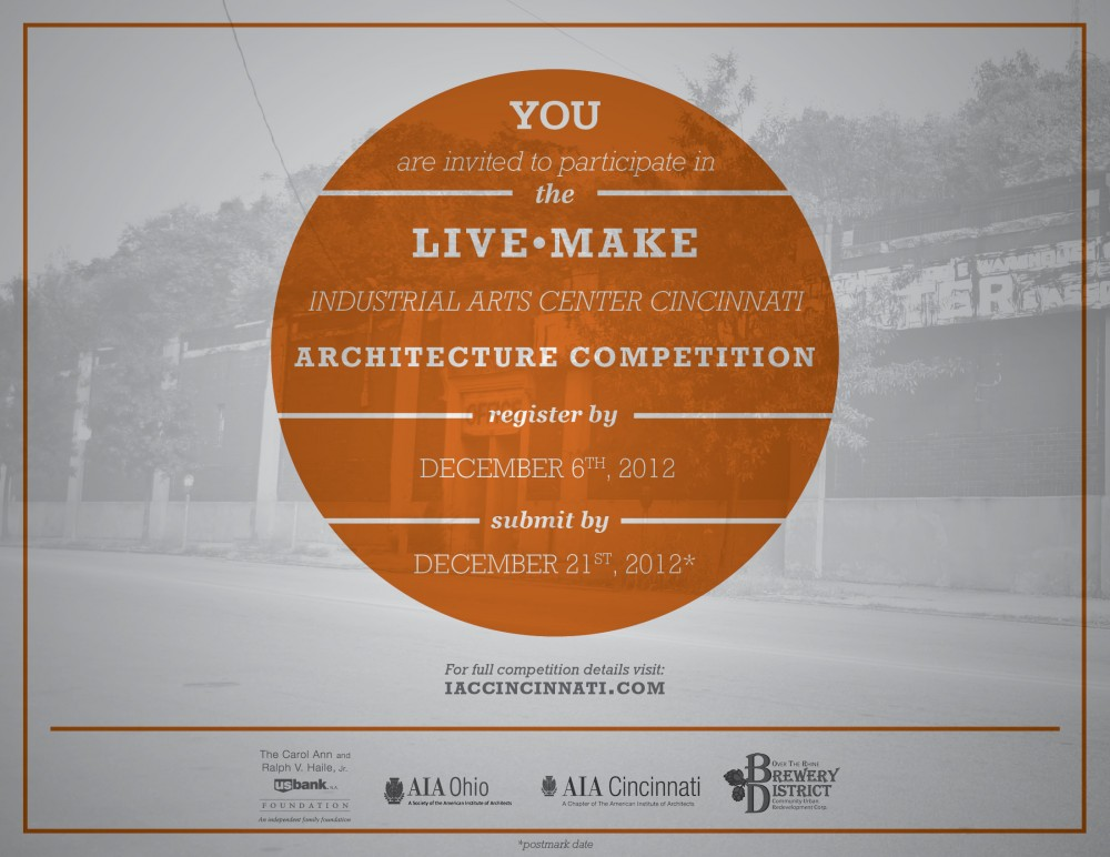 LIVE MAKE Industrial Arts Center Cincinnati Competition