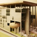 Office Complex for Delhi Pollution Control Committee Proposal (8) model 04