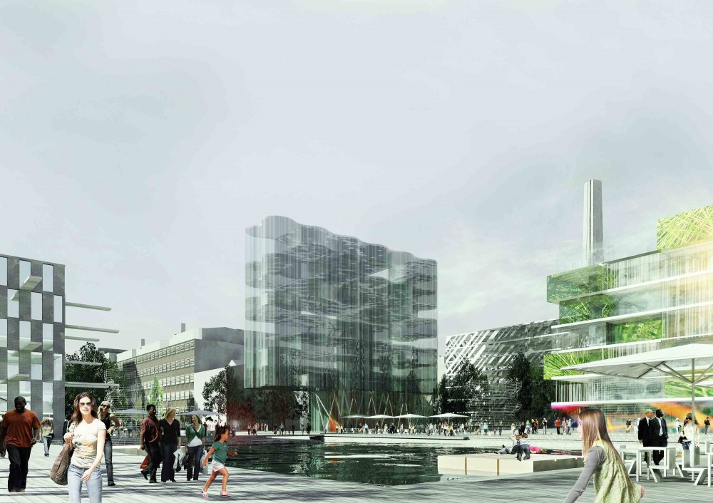 H+ Bredgatan Winner of the WAN Awards 2012 Urban Regeneration / Erik Giudice Architects