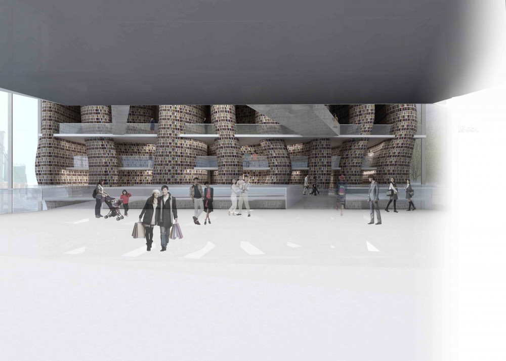 Daegu Gosan Public Library Competition Entry / wHY Architecture & Design