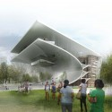 Daegu Gosan Public Library Competition Entry (1) Courtesy of wHY Architecture & Design