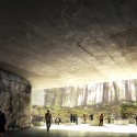 Lascaux IV: International Cave Painting Center Competition Entry (3) Courtesy of Mateo Arquitectura