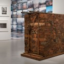 &quot;Ai Weiwei: According to What?&quot; (8) From left to right: New York Photographs, 1983-1993; Beijings 2008 Olympic Stadium, 2005-08; Kippe, 2006.