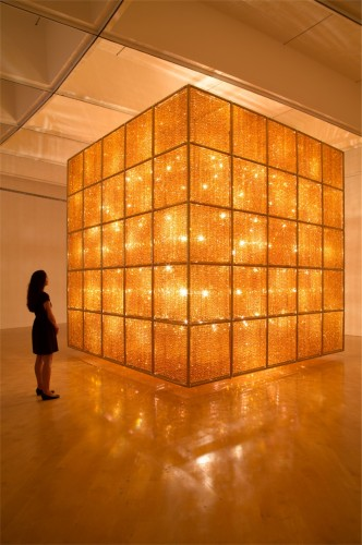 Ai Weiwei, Cube Light, 2008. Photo: Cathy Carver.
