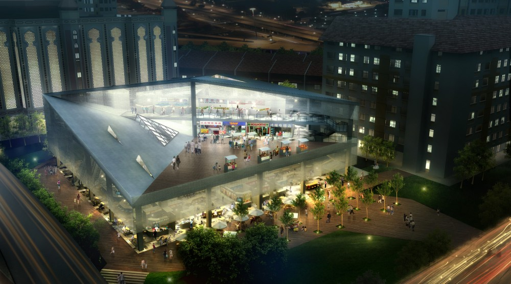 Bukit Panjang Hawker Center International Competition Entry / Materium