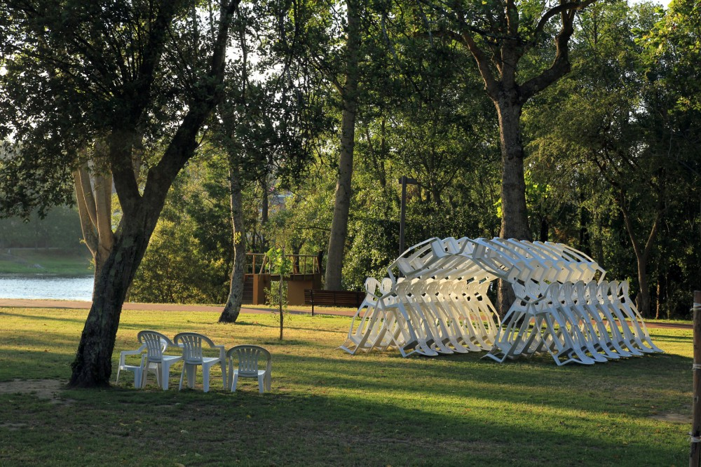Shell.ter Pavilion / LIKE Architects