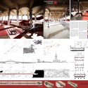 Transforming the Bridge Competition Winners (7) Third Place / Moxon Architects; Courtesy of Transforming the Bridge Competition