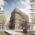 Kaufman & Broad Office Building Winning Proposal (2) © A2STUDIO