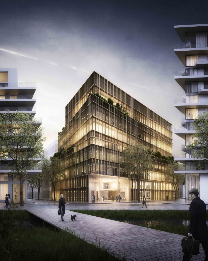 Kaufman & Broad Office Building Winning Proposal / Studioninedots