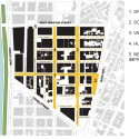 Masterplan for Hudson Square Streetscape Improvements (7) plan 01 / Courtesy of Mathews Nielsen Landscape Architects
