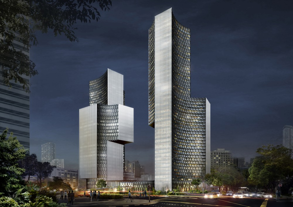 Bro Ole Scheeren unveils &#8216;DUO&#8217; towers in Singapore